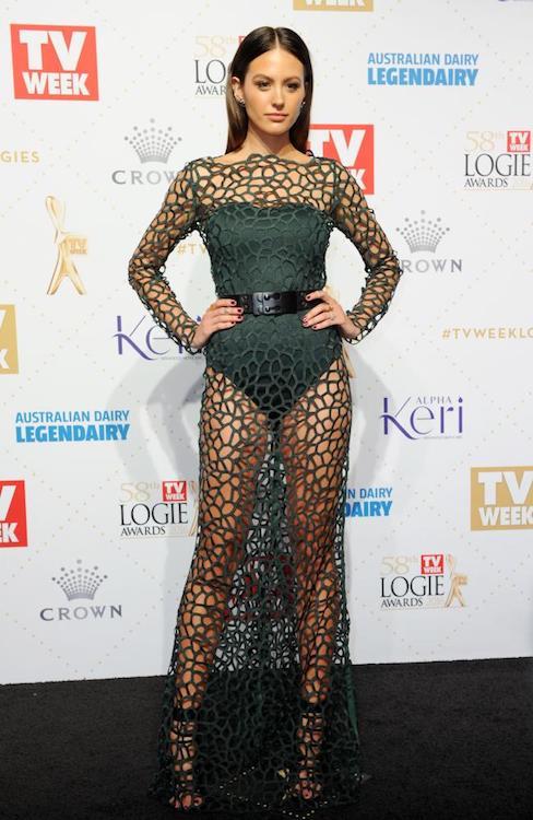 Jesinta Campbell at 2016 Logie Awards