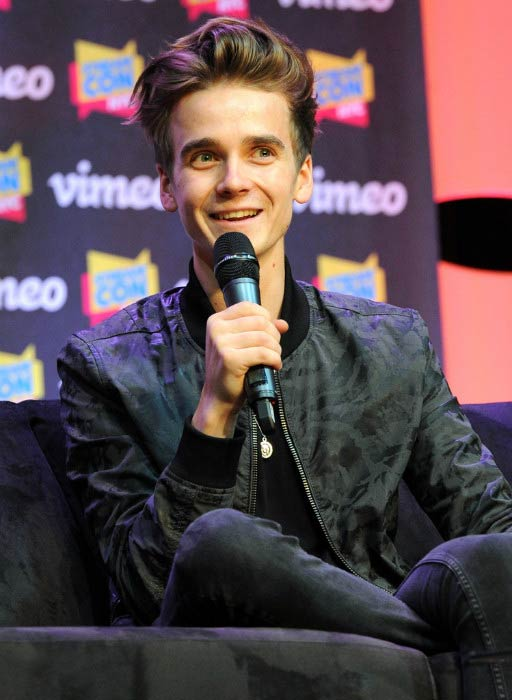 Joe Sugg at the Stream Con event in New York City on October 31, 2015