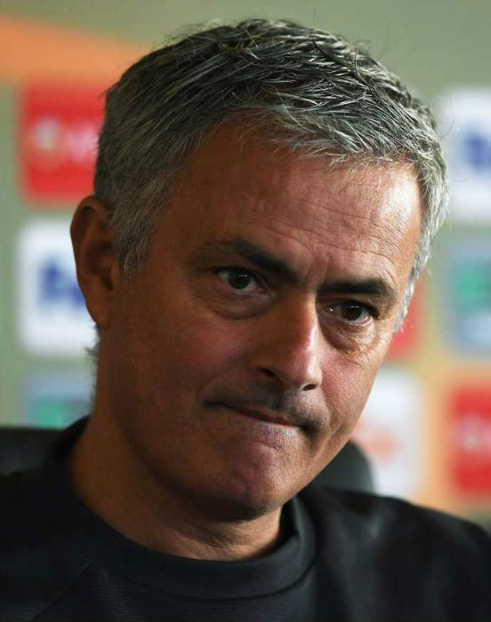 Jose Mourinho at a Manchester United press conference on November 23, 2016