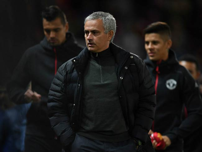 Jose Mourinho during UEFA Europa League match between Manchester United FC and Fenerbahce SK in October 2016