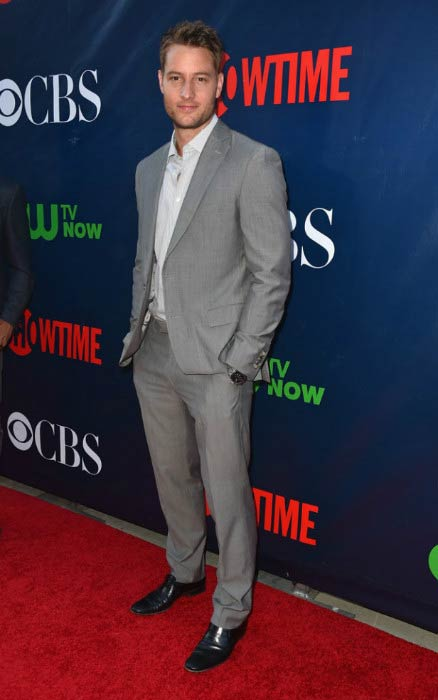 Justin Hartley at the CBS's Summer TCA party in August 2015