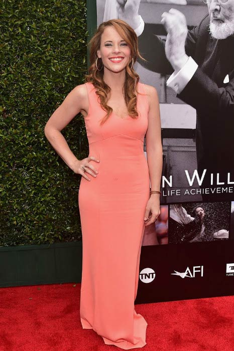 Katie Leclerc at the 44th Life Achievement Award Gala Tribute in June 2016