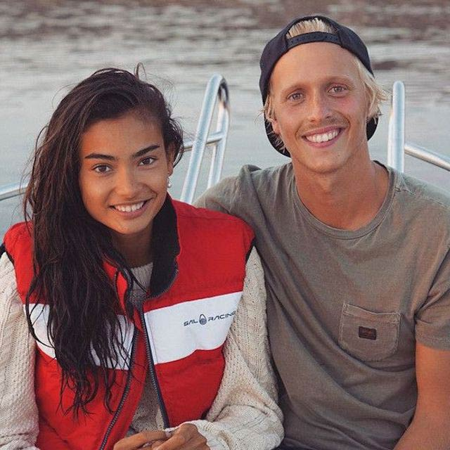 Kelly Gale and Johannes Jarl