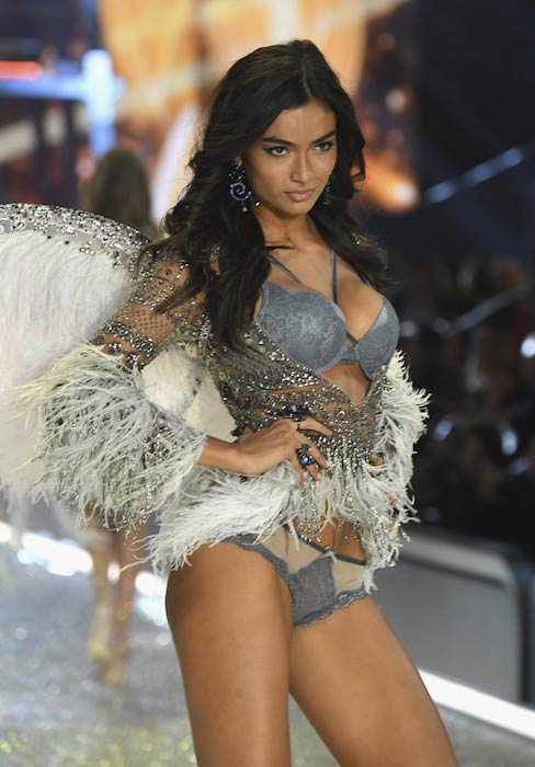 Kelly Gale at 2016 Victoria's Secret Fashion Show in Paris