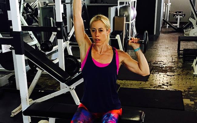 Lacey Stone Flex Workout
