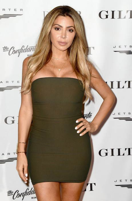 Larsa Pippen at the DuJour Media Gilt & JetSmarter party on November 30, 2016