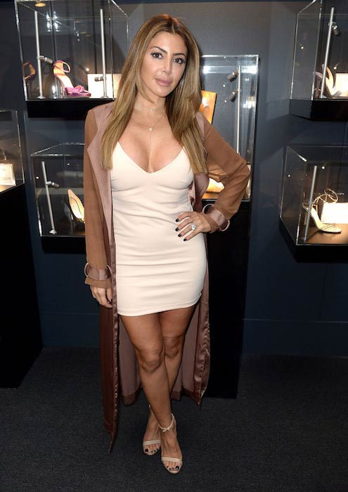 Larsa Pippen at the Etihad Lounge Opening during New York Fashion Week in September 2016