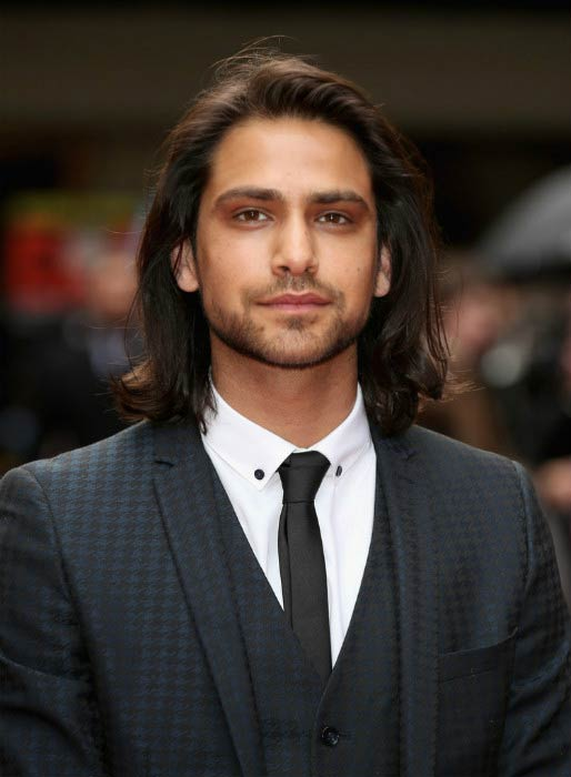 Luke Pasqualino at the Jameson Empire Awards in March 2015