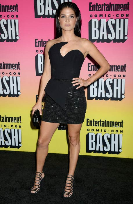 Marie Avgeropoulos at the Entertainment Weekly's Comic-Con Bash in July 2016