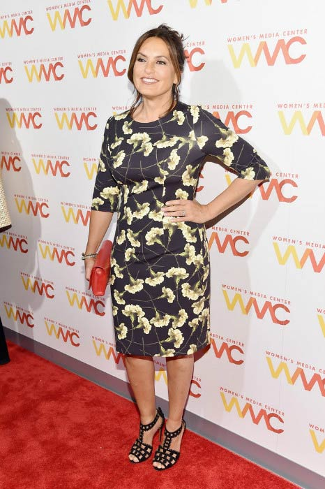 Mariska Hargitay at the Women's Media Awards in September 2016