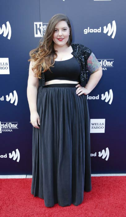 Mary Lambert at the GLAAD Gala San Francisco in September 2016