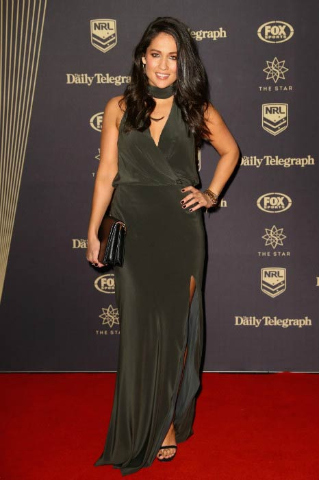 Mel McLaughlin at the 2016 Dally M Awards