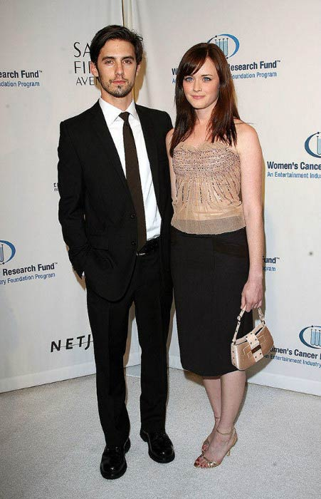 Milo Ventimiglia and Isabella Brewster at the Women's Cancer Research Fund event in 2010