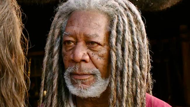 "Morgan Freeman in a still from ""Ben Hur"" that was released in U.S. in August 2016"