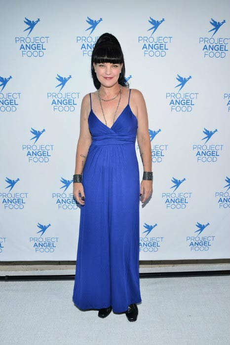 Pauley Perrette at the Project Angel Food's Angel Awards in September 2016