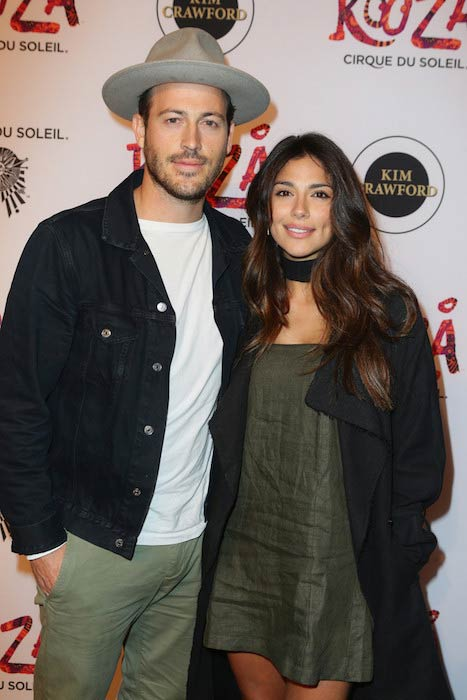 Pia Miller at Cirque du Soleil KOOZA Sydney premiere in August 2016
