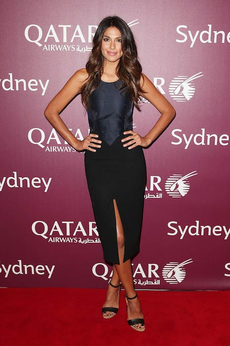Pia Miller at Qatar Airways Sydney Gala Dinner 2016