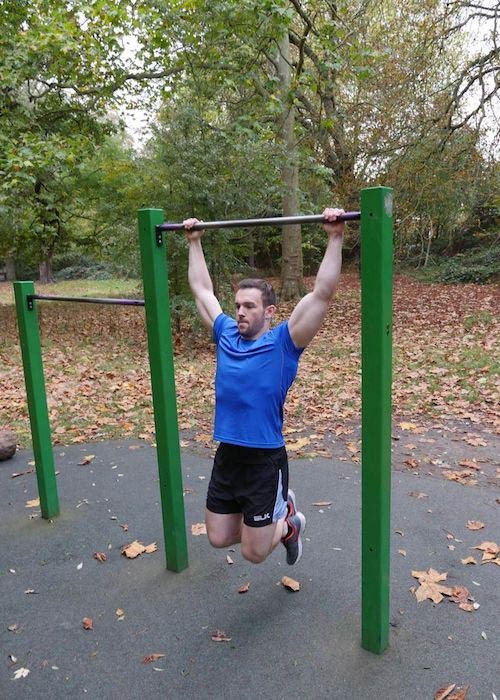 Richard Hadfield pull-up exercise