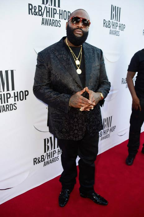 Rick Ross at the BMI R&B / Hip-Hop Awards in August 2015