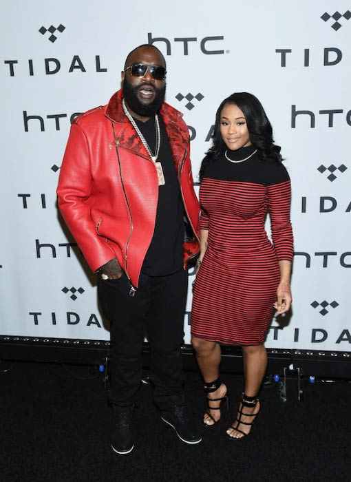 Rick Ross and Lira Galore at the TIDAL X: 1020 event in October 2015