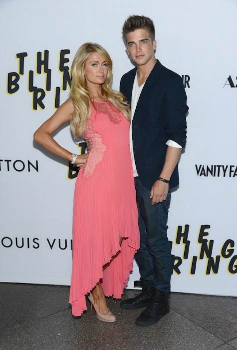 River Viiperi and Paris Hilton at the premiere of A24's 'The Bling Ring' in Los Angeles in June 2013