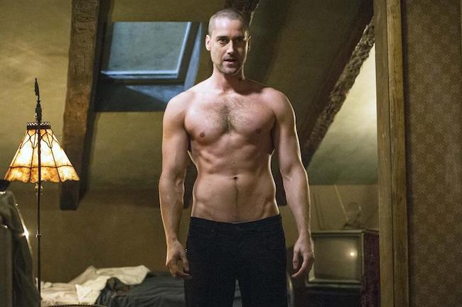 Ryan Eggold shirtless body