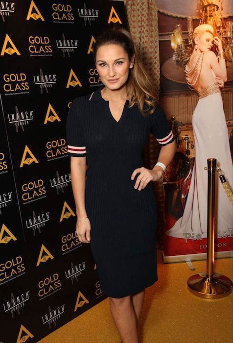 Sam Faiers at Inanch Hair Show in London on November 22, 2016