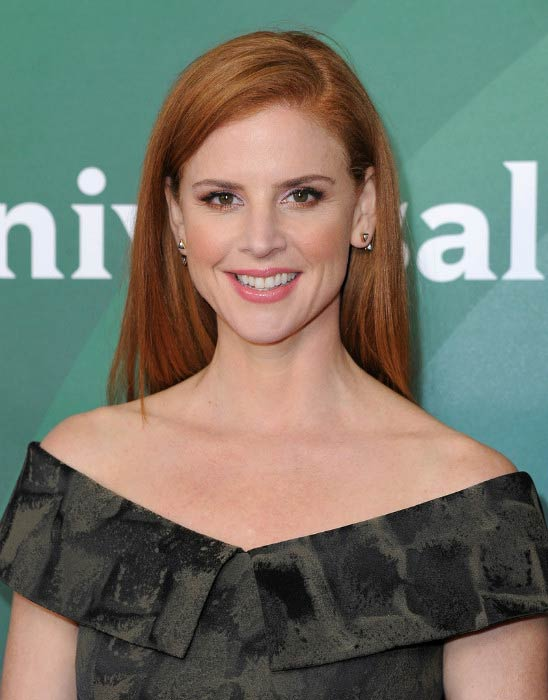 Sarah Rafferty at 2016 Winter TCA Tour – NBC Universal Press Tour