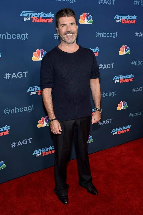 "Simon Cowell at the ""America's Got Talent"" Season 11 Live Show in August 2016"