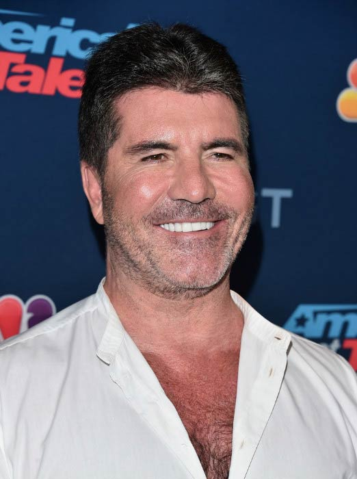 Simon Cowell at the America's Got Talent Season 11 Live Show in August 2016