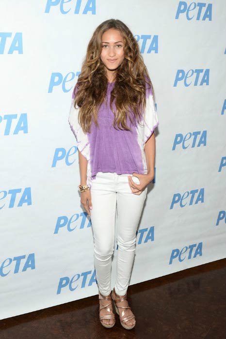 Skylar Stecker at the LA launch party for Prince's PETA Song in June 2016