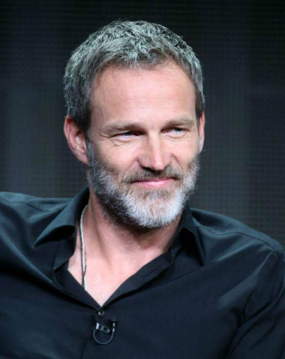 Stephen Moyer at The Bastard Executioner' panel discussion in August 2015