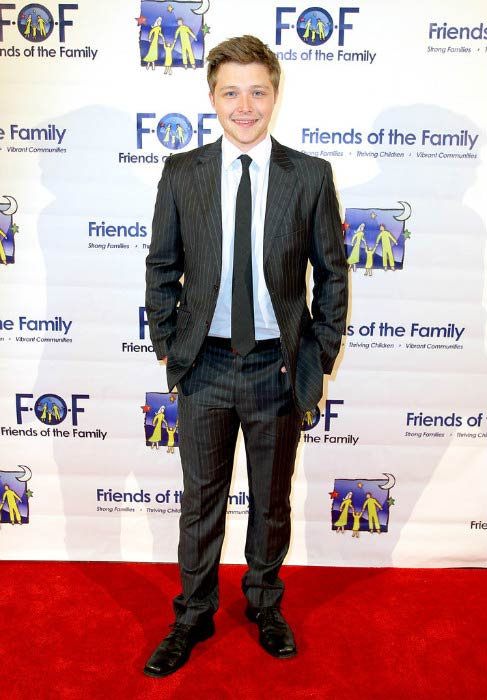 Sterling Knight at the Families Matter Benefit & Celebration event in March 2014