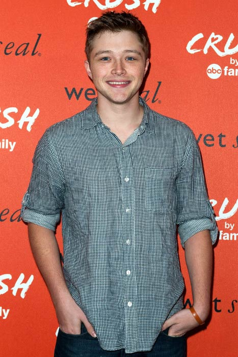 "Sterling Knight at the Launch Celebration of ""Crush By ABC Family"" in November 2013"