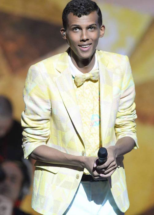Stromae at 29th edition of Victoires de la Musique in Paris on February 14 2014