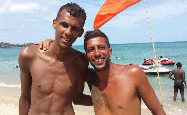 Stromae shirtless body