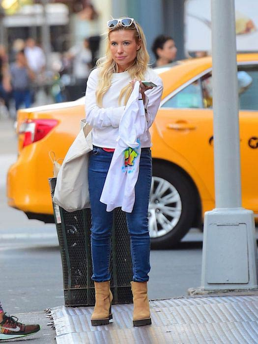Tracy Anderson out in SoHo in September 2016