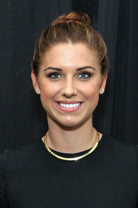 Alex Morgan at the Nicole Miller Fashion Show during New York Fashion Week in September 2015