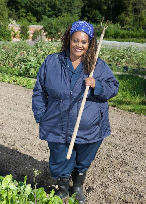 Alison Hammond while on Sugar Free Farm in May 2016