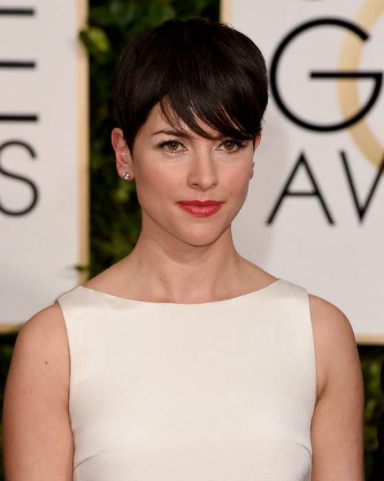 Amelia Warner at the 72nd Annual Golden Globe Awards in January 2015