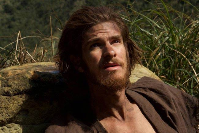 Andrew Garfield as seen in Silence (2016)