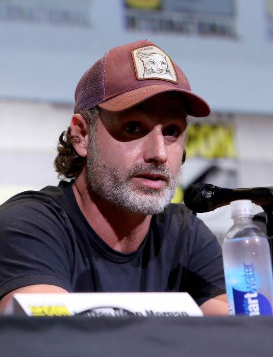 Andrew Lincoln at 'The Walking Dead' Panel during Comic-Con International in July 2016