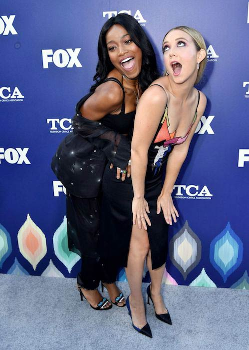 Billie Lourd (Right) at Fox 2016 Summer TCA All Star Party in August 2016