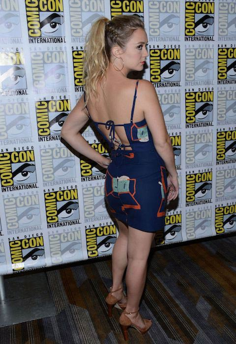 Billie Lourd at 2016 Comic-Con in San Diego