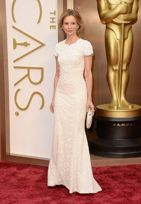 Calista Flockhart at the Golden Globe Awards 2014