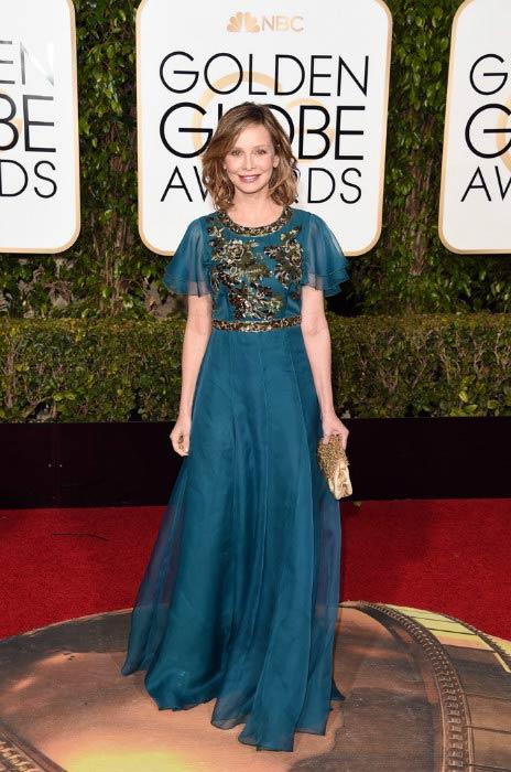 Calista Flockhart at the Golden Globe Awards 2016