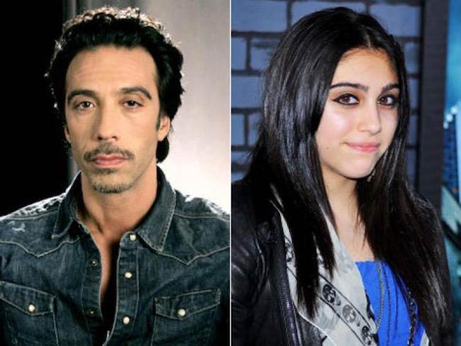 Carlos Leon and his daughter Lourdes Leon