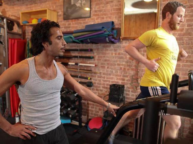 Carlos Leon training Jacob