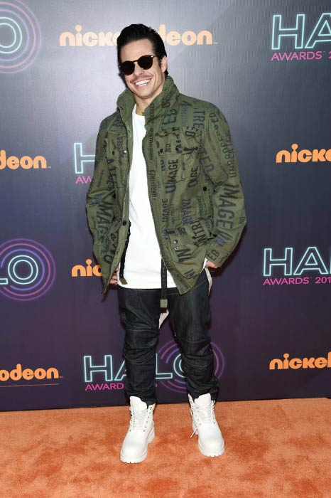 Casper Smart at the Nickelodeon Halo Awards 2016
