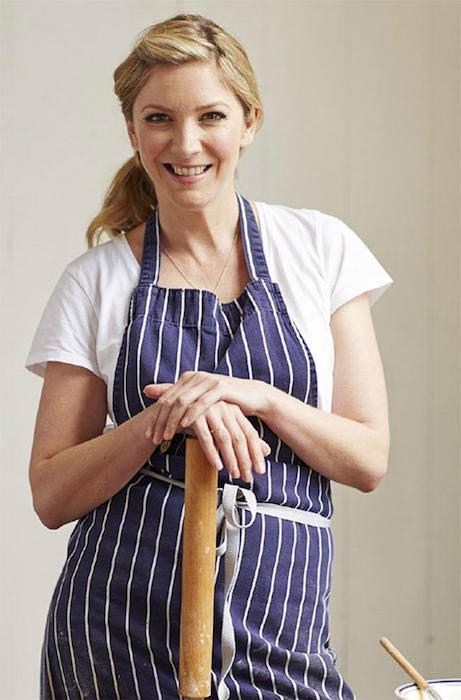 Celebrity chef Lisa Faulkner